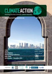 Climate Action 2012-2013