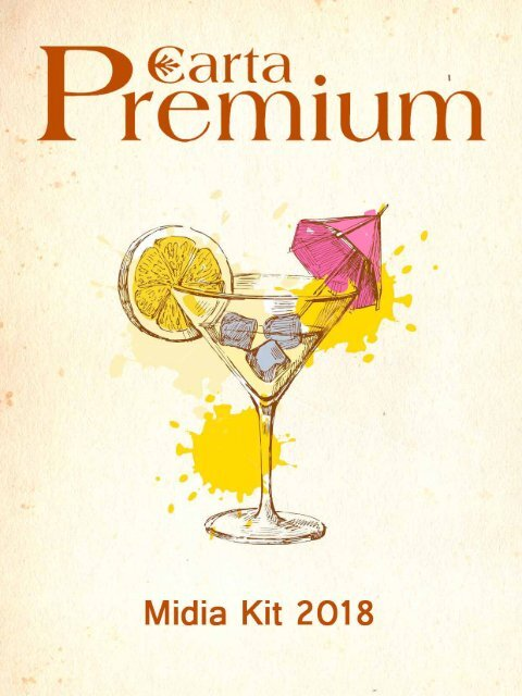 Revista Carta Premium - Midia Kit 2017/2018