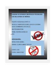 Restricciones de red Mora