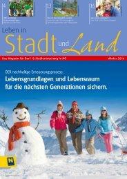 Leben in Stadt und Land   Winter 2016
