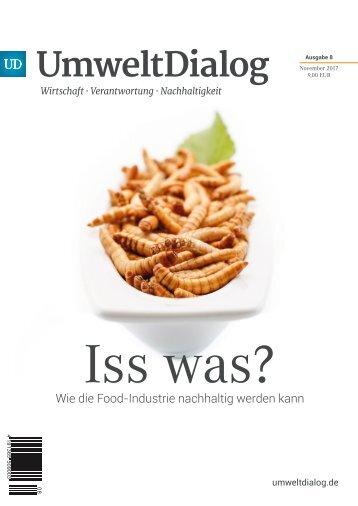 Iss Was?  Wie die Food-Industrie nachhaltig werden kann