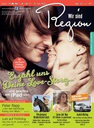 Wir sind Region   Frühling 2012