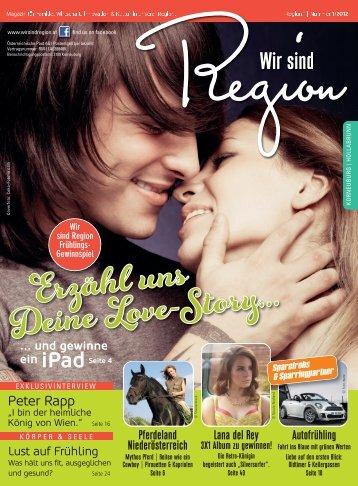 Wir sind Region | Frühling 2012