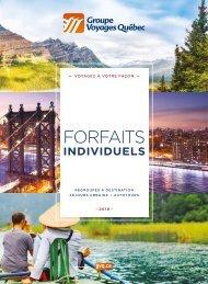 Forfaits Individuels 2018