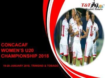 BROCHURE- CONCACAF WOMEN'S U20 TOURNAMENT_REV 1