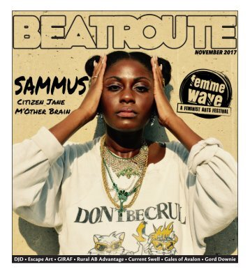 BeatRoute Magazine [AB] print e-edition - [November 2017]
