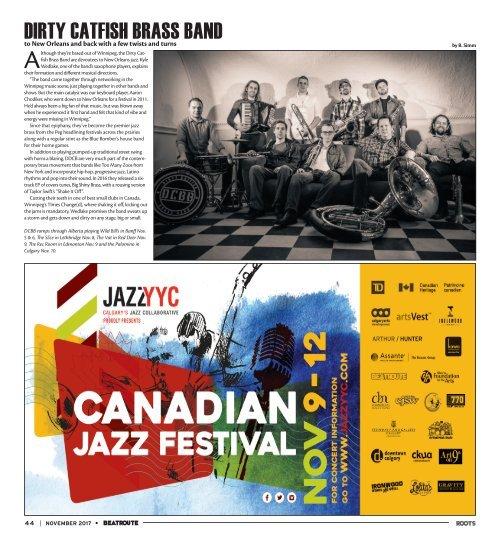BeatRoute Magazine [AB] print e-edition - [November 2017]