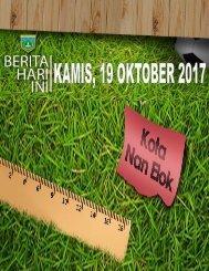 e-Kliping Kamis, 19 Oktober 2017