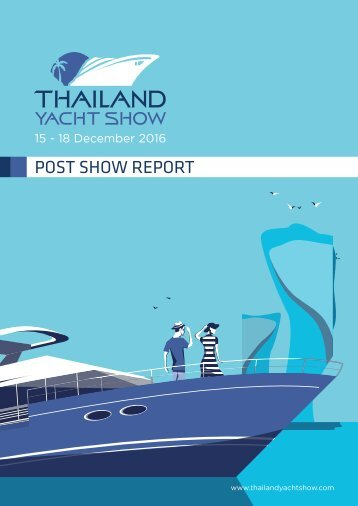 Thailand Yacht Show Post Show Report