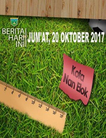 e-Kliping Jum'at, 20 Oktober 2017