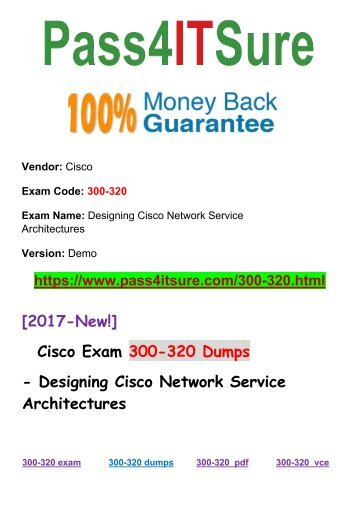 New Pass4itsure 300-320 Dumps PDF
