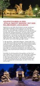"""Adventzauber in der """"Stille Nacht Region"""" mit der Salzburger Lokalbahn - Seite 2"""