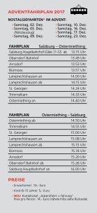 """Adventzauber in der """"Stille Nacht Region"""" mit der Salzburger Lokalbahn - Seite 3"""