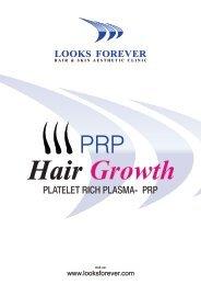 PRP Hair Regrowth (Platelet Rich Plasma)