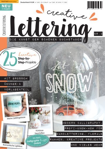 Creative Lettering - Die Kunst der schönen Buchstaben 03/2017