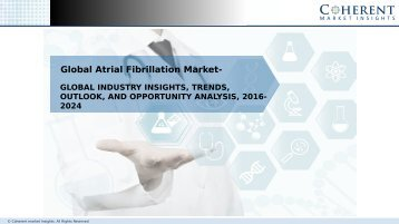 Atrial Fibrillation Market – Global Opportunity Analysis, 2016–2024
