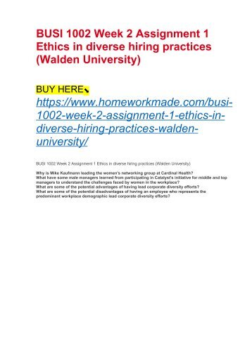 walden university mission and vision statement