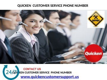 you can take Quicken Contact Number from the proficient experts