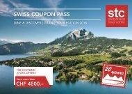 Swiss Coupon Pass 2018 - Englisch STC