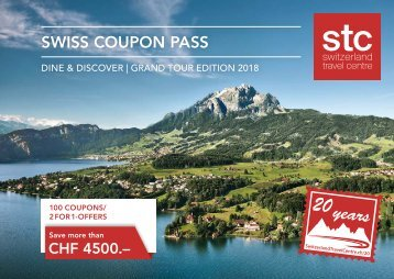 Swiss Coupon Pass 2018 - Englisch STC