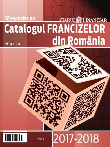 Catalogul Francizelor din Romania 2017-2018 - ed. a 3-a