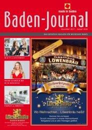 Baden-Journal November 2017 - Januar 2018