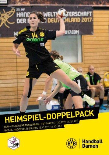 Heimspiel-Doppelpack Bensheim und Rödertal