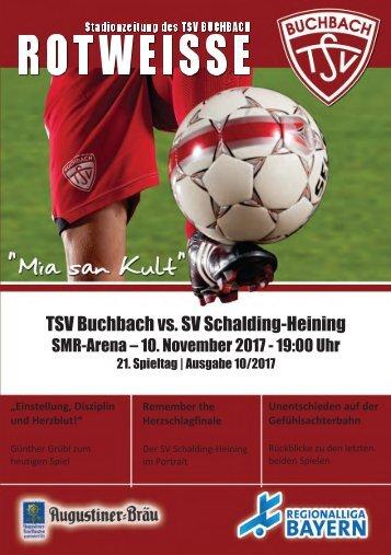 Stadionzeitung TSV Buchbach - SV Schalding-Heining