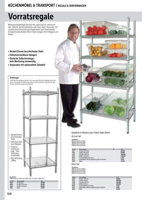 Küchenmöbel &Transport_echsle gastro Katalog