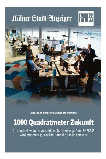 Der neue Newsroom von Kölner Stadt-Anzeiger und EXPRESS