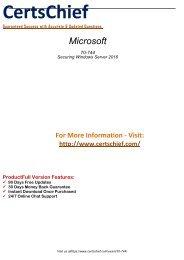 70-744 Exam Software