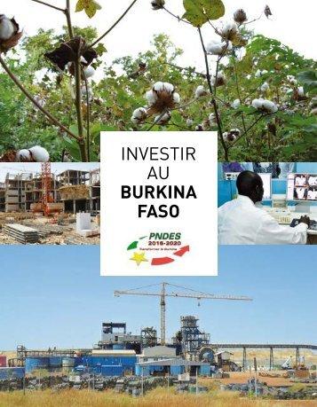 Investir au Burkina