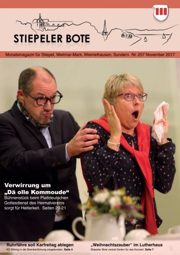 Stiepeler Bote 257 - November 2017