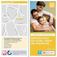 Flyer Beratungsstelle für Eltern, Kinder und Jugendliche - AWO-HS