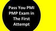 PMP Dumps