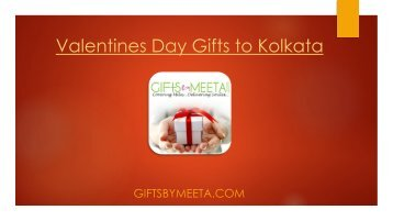 Valentines Day Gifts to Kolkata
