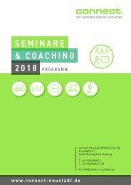 connect. - Seminarprogramm 2018