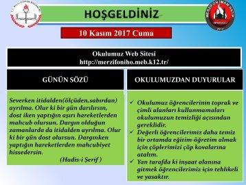 MERZİFON İMAM HATİP ORTAOKULU_2017