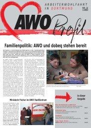 Familienpolitik: AWO und dobeq stehen bereit - AWO Dortmund