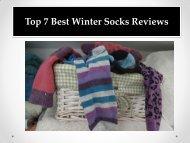 Top 7 Best Winter Socks Reviews