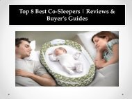 Top 8 Best Co-Sleepers  Reviews & Buyer's Guides