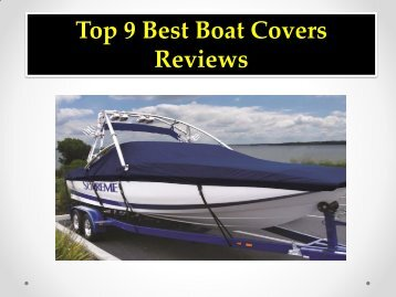 Top 9 Best Boat Covers Reviews
