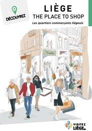 Brochures des commerces à Liège