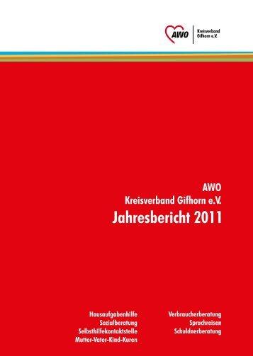 Jahresbericht Schuldnerberatung - Arbeiterwohlfahrt - Kreisverband ...
