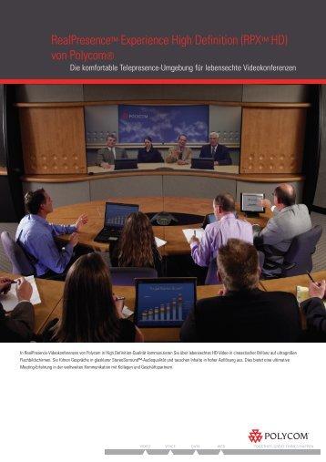 Polycom-RPX Overview 08_07 DE.pdf - Audio Video Network ...