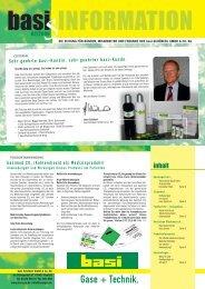 inhalt - basi Schöberl GmbH & Co. KG