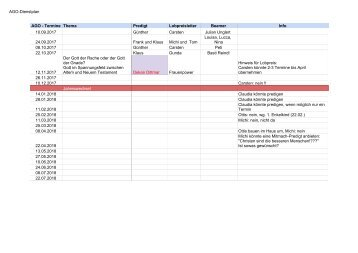 AGO-Dienstplan - Plan ab 09_2017