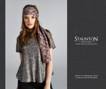Womens Scarves Lookbook by Staunton Moods