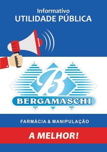 Informativo - Utilidade Pública - Farmacia Bergamacshi