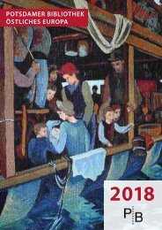 Verlagsverzeichnis des Deutschen Kulturforums östliches Europa 2018